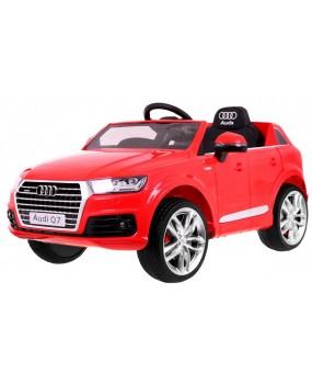 Elektrické autíčko Audi Q7 2.4 G červené